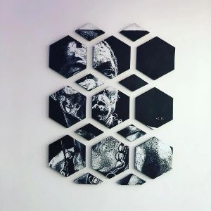 "Puzzle Piece of the legend ""Fela"" - Celebrity Artist"