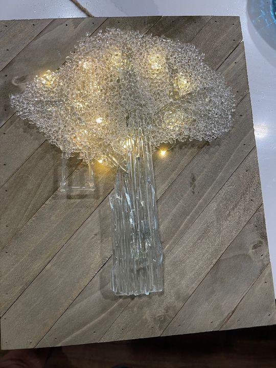 Crystal illumination - Fine Glass Fusing