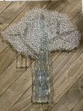 Glass fused tree