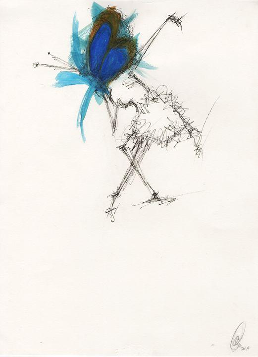 Caged Bird - A'lysia Alcorn's Art