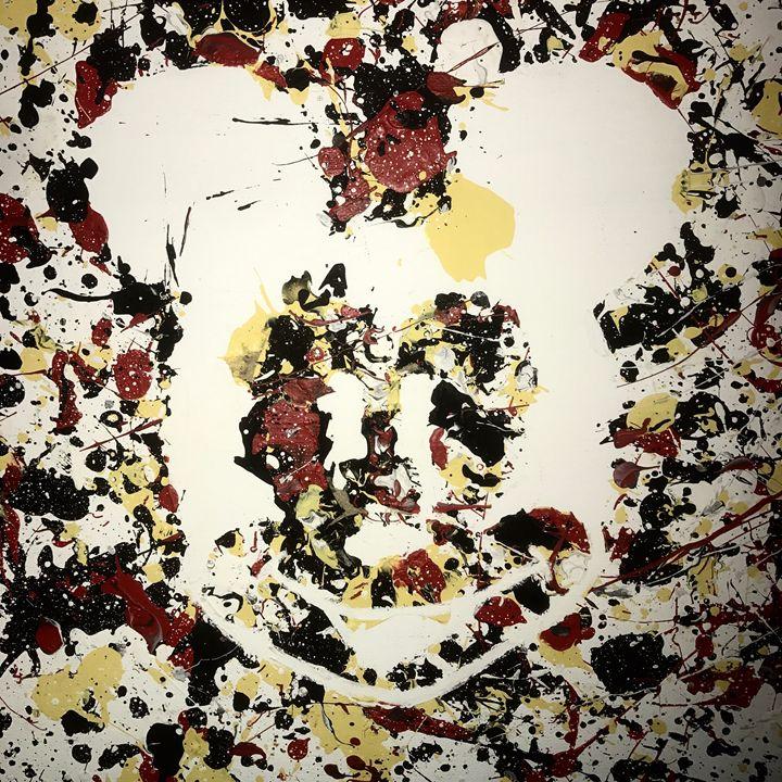Abstract Mickey - A'lysia Alcorn's Art