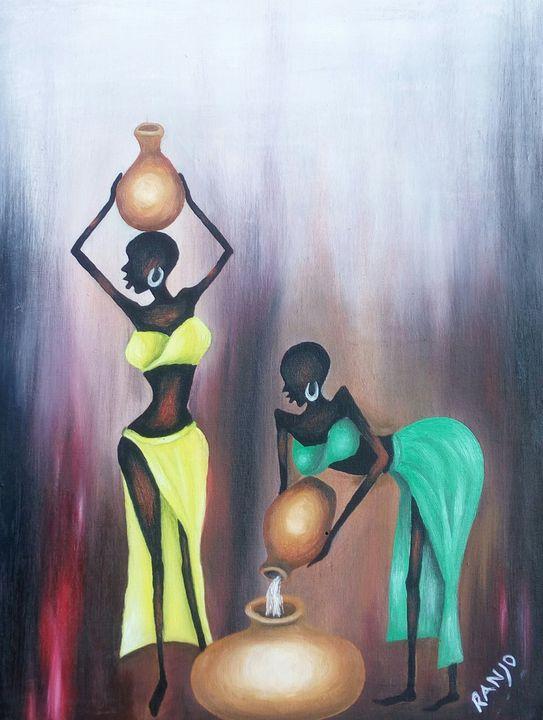 African girls - Ranjo Arts