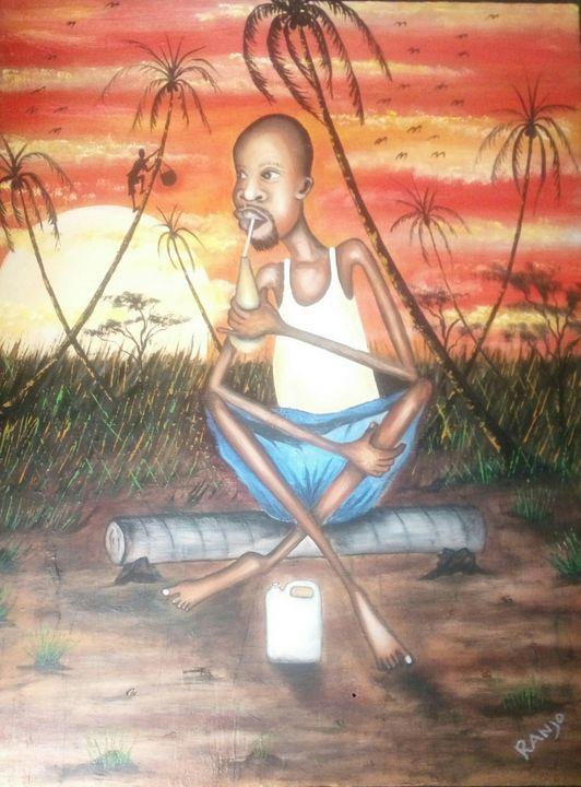 African palm wine - Ranjo Arts