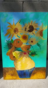 flowers in vas