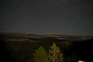 Night in the canyon - Laurie Ann Marshall