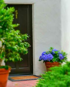 Doorway to happiness