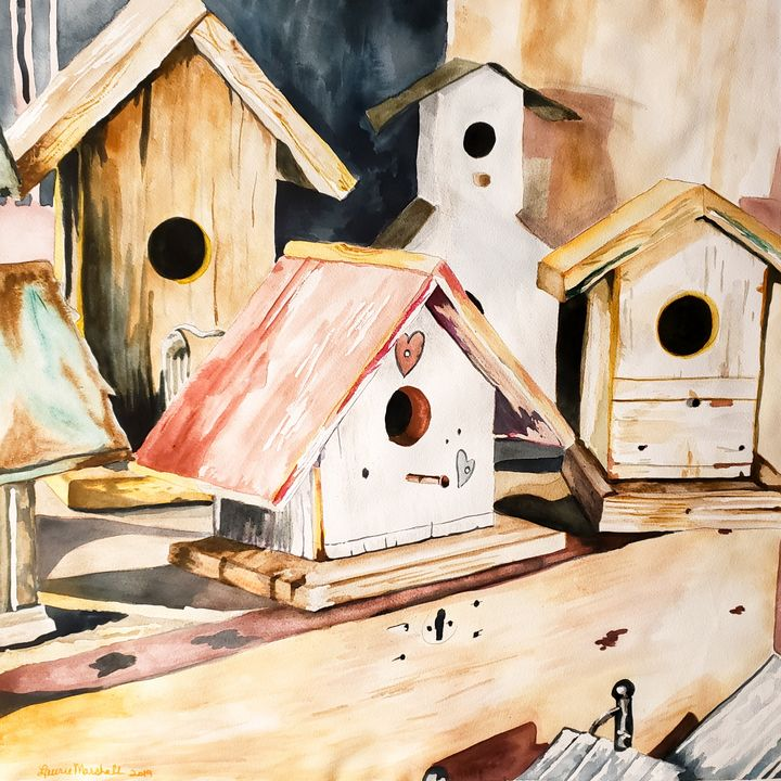 Put a Little Birdhouse in Your Soul - Laurie Ann Marshall