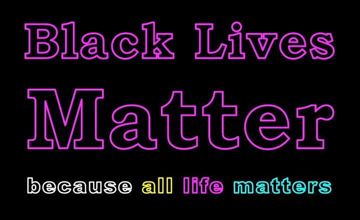 Black Lives Matter - Mother Nature is Life
