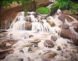 An Original Nature Scene in Acrylic