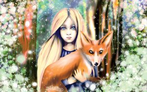 the fox and the gir