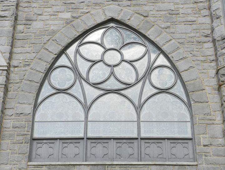 Church Window - David Scott
