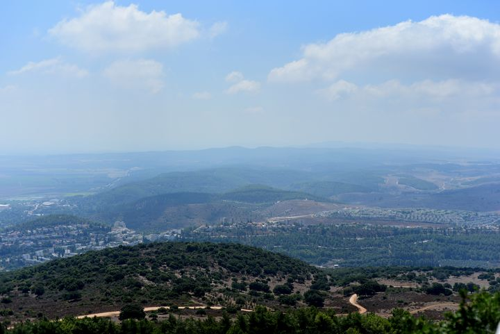 View from Carmel Mountain (Israel) - Elena Zapassky