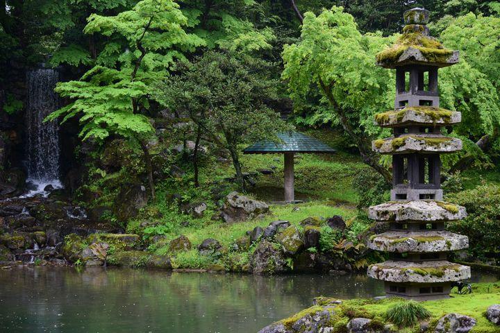 Zen garden in Japan - Elena Zapassky