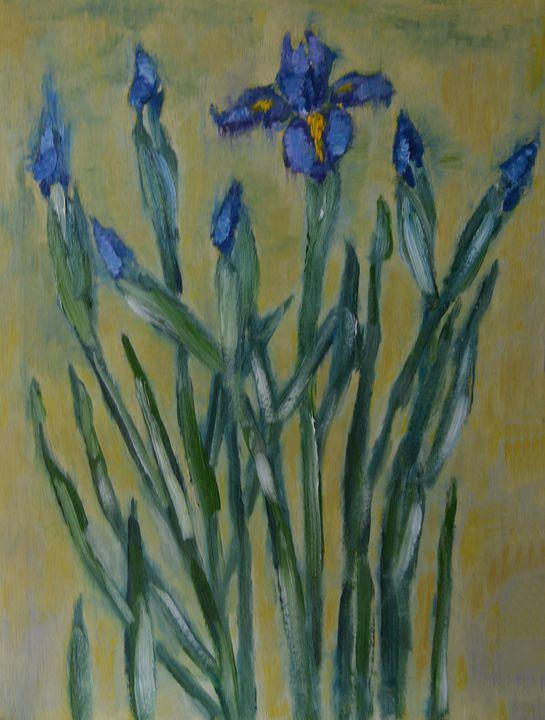 Irises - Elena Zapassky