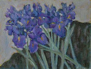 Bunch of irises