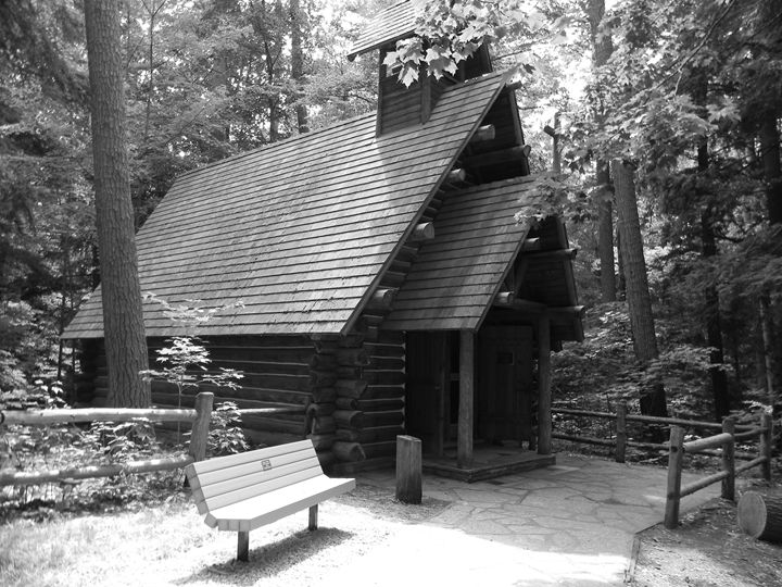 Loging Chapel - Kimberely Martin
