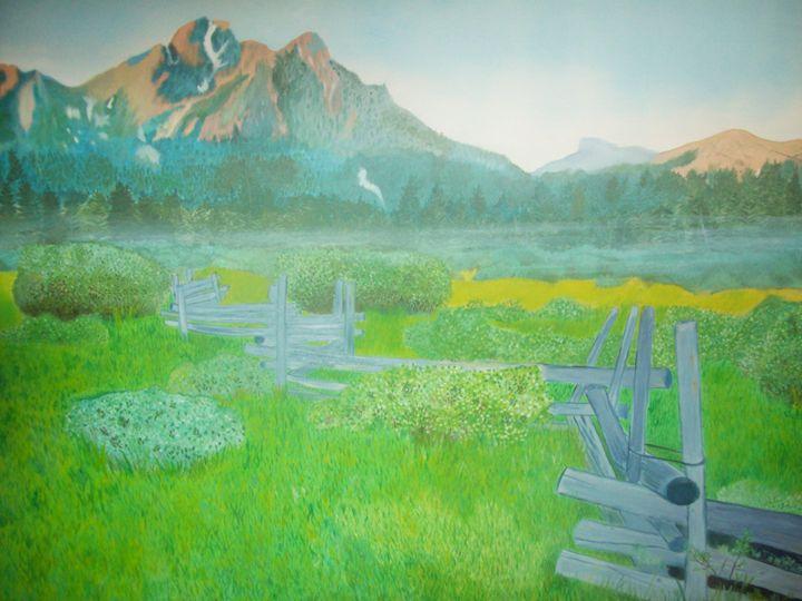 Mountins Landscape - Kimberely Martin