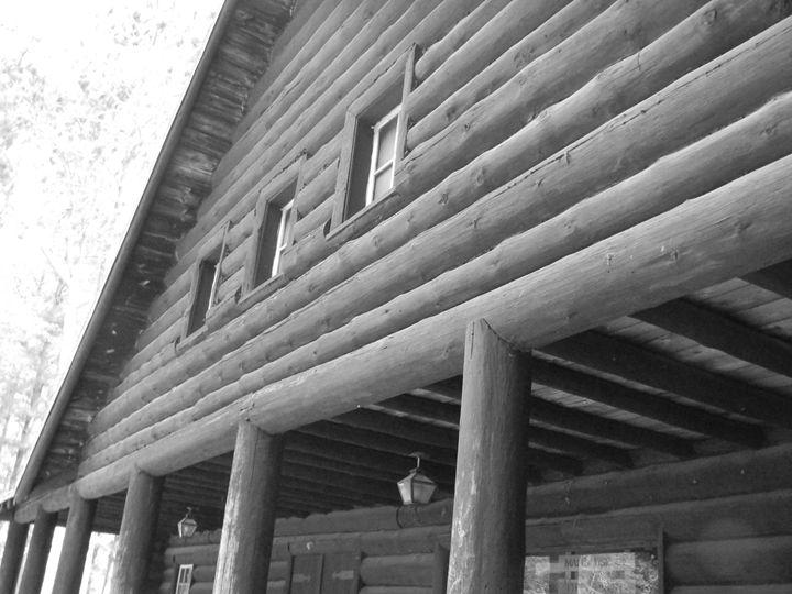 Log building - Kimberely Martin