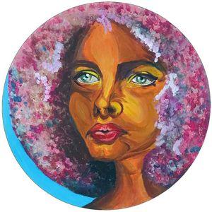 Casandra - Black Pop Art - Bokoroart