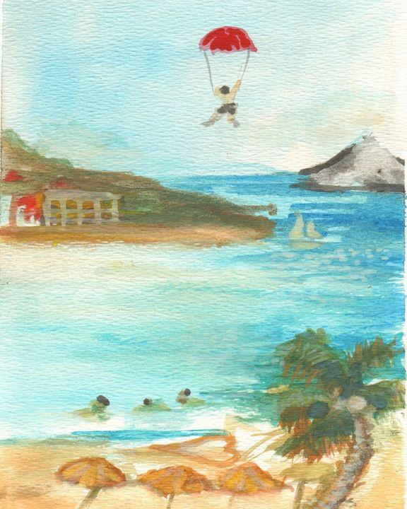Simpson Bay St Maarten - PaintSarahPaint
