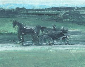 Amish Buggy - PaintSarahPaint