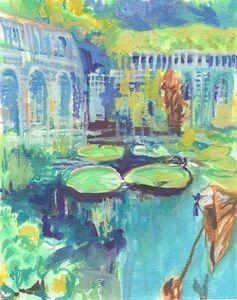 Lily Pad Garden - PaintSarahPaint