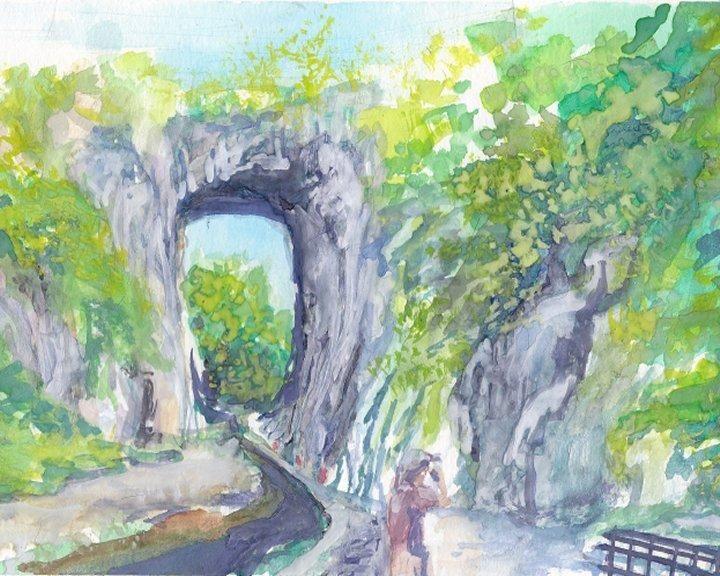 Natural Bridge VA - PaintSarahPaint
