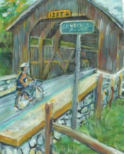 Pennsylvania Covered Bridge - PaintSarahPaint
