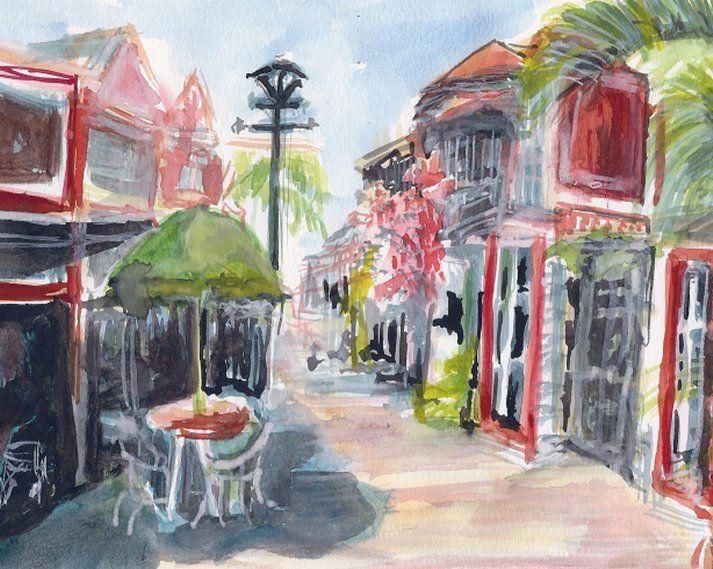 Caribbean without Tourists - PaintSarahPaint