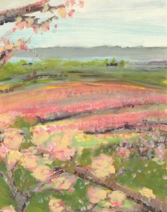 Apple Orchard - PaintSarahPaint