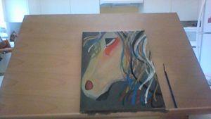 Circus Horse