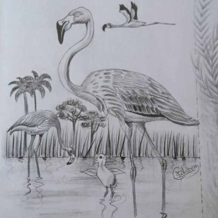 Birds... - Yash Chavan (artist)