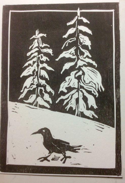 Crowshoe - AK Art Prints
