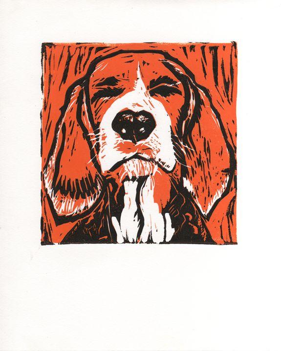 Orange Solace - AK Art Prints