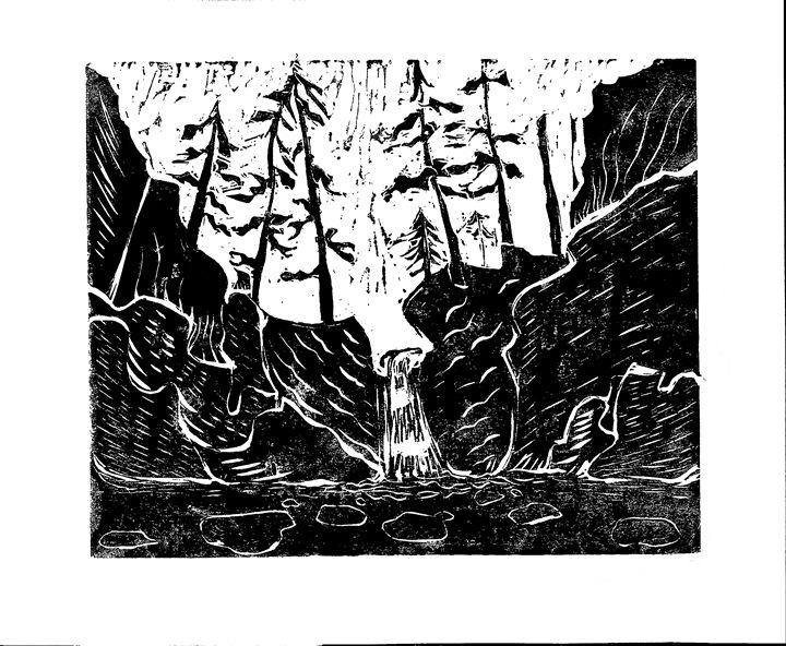 Punchbowl Falls - AK Art Prints