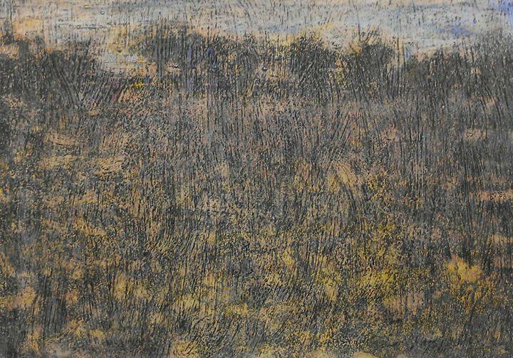 "Hand Painting of Landscape by Kakha. - Art Gallery ""Freska""-Paints By Mamuka and Kakha."
