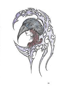 Crimson Raven