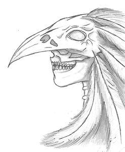 Raven Skull Shaman