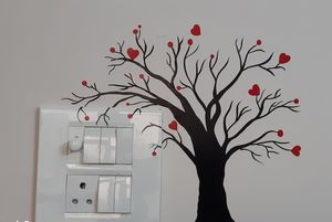 Switch board decoration ideas