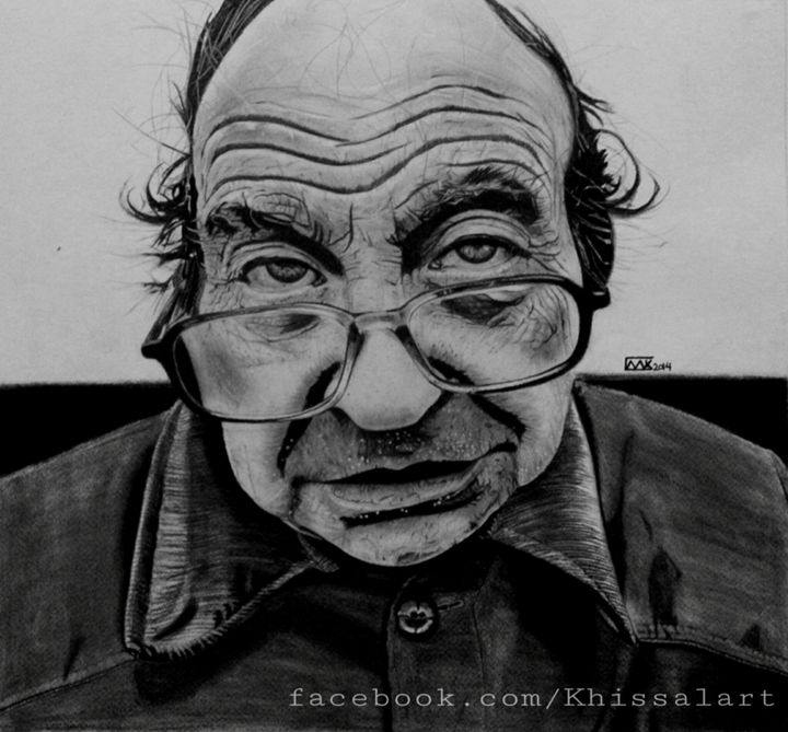 Old man in shadows - Khissal