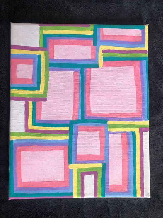 Abstract Square Solitude - Lillyan Mastine