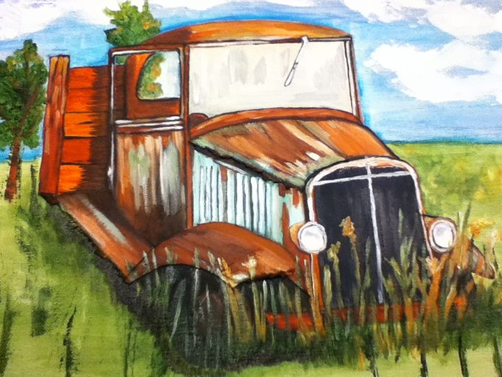 Out to Pasture - kristy's Art Shed