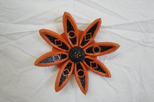 Orange Seed Pod Flower