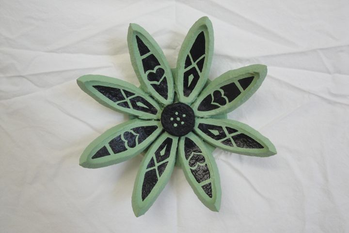 Sage Seed Pod Flower - Young Fortin Designs
