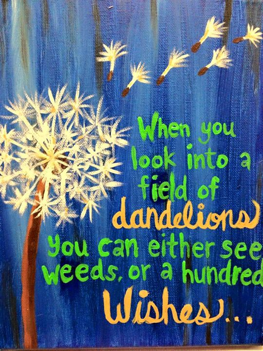 Dandelions - Hannahs Creations