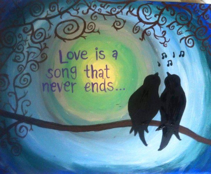 Love Birds - Hannahs Creations