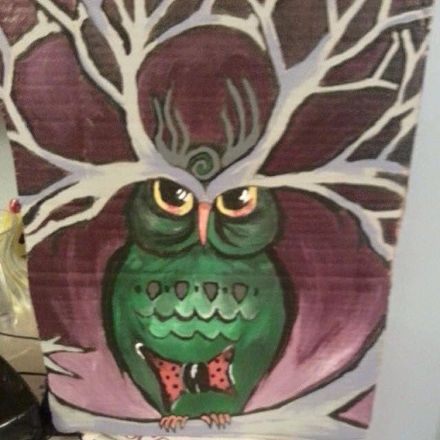 Dark Owl - Hannahs Creations