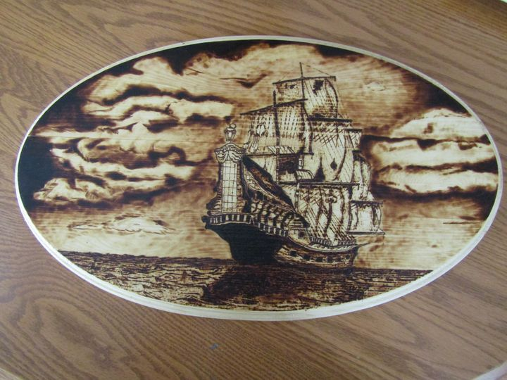 Tall Ship - Stovepipe Hollow Woodworking and Forge