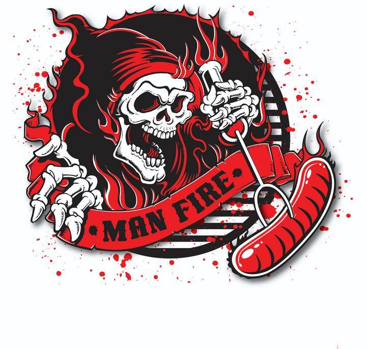 Man Fire BBQ - Wright Works