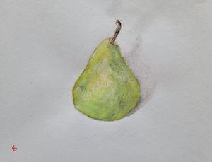 Study of a Ripe Pear - Eric Litchfield
